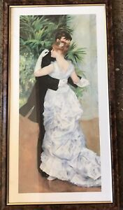 Very Large Beautifully Framed Renoir Dance In The City Print