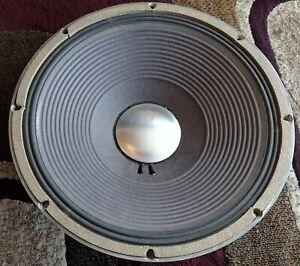 """Vintage JBL D130F 15"""" 8-ohm Loudspeaker / Woofer Single - Tested & Working"""