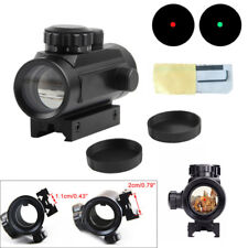 1x40mm Tactical Holographic Sight Green Red Dot Sight Scope Cross Riflescope UK