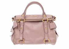 Miu Miu Leather Bag Pink 805000926989000