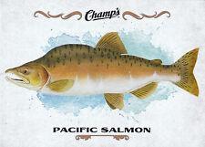 15/16 UPPER DECK CHAMPS FISH #F-18 PACIFIC SALMON *18914