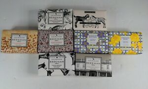 Beekman 1802 Lot of 8 /3.5 oz Goat Milk Soap NEW See Pictures & Details