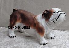 Englische Bulldogge Lebensgroß Figur Tierfigur Bulldog Hund Hundefigur Groß Deko
