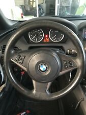 BMW E60 5-Series E63 Factory Sports Leather Steering Wheel 3-Spoke 06-07 Heated