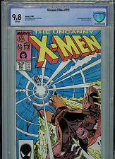X-Men #221 Cbcs Graded 9.8 Nm/Mt1987 Marvel Comics 1st Mr. Sinister