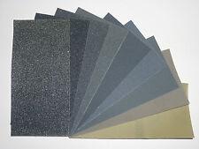 Micro-Mesh MX Abrasive Polishing Cloth Sheets - 13 Grades & 5 Sizes Available