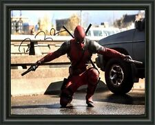DEADPOOL  - Signed A4 Photo Poster - FREE POSTAGE