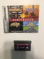 Namco Museum ~ Nintendo Game Boy Advance ~ Authentic ~ Cleaned & Tested