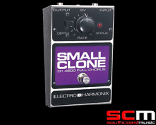 Electro Harmonix Small Clone Chorus Analogue Guitar Pedal FX Effects Guitar