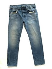 Mens G-STAR 3301 Straight Faded blue Jeans Size W 32 L 32 Exc Cond