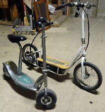 Pair of Razor Electric Scooters With Seat Local Pickup
