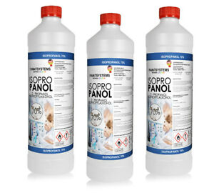 Isopropanol 2-Propanol Isopropylalkohol 70% - 3x 1L