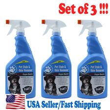 (3 pcs) Jumbo Package Pet Stain & Odor Remover Oxygen Booster Safe Pet 946 mL