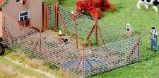 Faller 180414 - Wire Mesh Fence  Plastic Kit  'H0' Gauge 1/87 Scale 1st Post