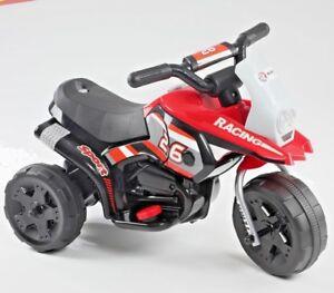 Kids Motorbike Ride On Motorcycle Toy Electric Scooter Car Bike 6V Battery UK