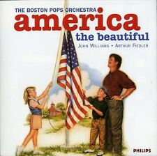 America The Beautiful - Williams/Fiedler/Boston Pops Orch. (1996, CD NIEUW)