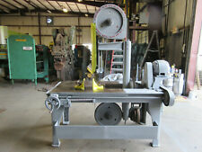 Marvel No 8 Armstrong Blum Vertical Band Saw New Blade Video Below