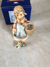 """New ListingGoebel Hummel """"Forget Me Not"""" #362/I With Pin"""