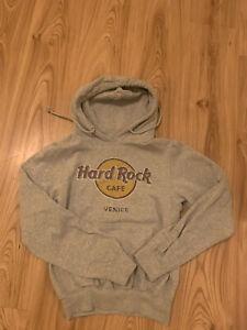 Hard Rock Cafe Vinice Xs S 34 36 Hoodie Pullover Vintage