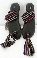 SANUK WOMENS YOGA SLING pattern SWS2195 SZ 9  Multi Color NEW W TAGS comfort
