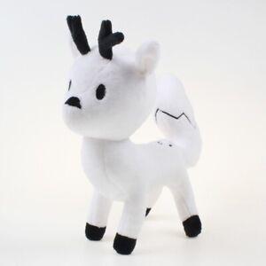 Hilda Plush Toys Cartoon Movie Hilda And White Deer fox Twig Soft Stuffed Dolls
