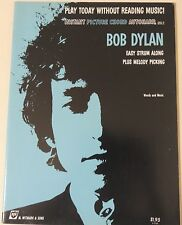 BOB DYLAN -PLAY TODAY -ORIGINAL & MINT '60s SHEET MUSIC BOOK-32 pages