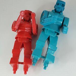 Rockem Sockem Blue Bomber Red Rocker Boxing Robots Replacement Parts 2001 Mattel