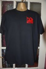 VAUXHALL  ON FRUIT OF LOOM HEAVYWEIGHT T-SHIRT MACHINE EMBROIDERED IN UK
