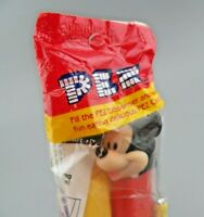 Vintage PEZ Mickey Mouse Red with Feet New Old Stock Sealed