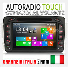 "AUTORADIO 7"" Windows 10 MERCEDES Classe C CLK M A G ML C 230 240 W203 W209 VITO"