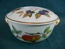 Royal Worcester Evesham Gold Round Individual Casserole with Lid