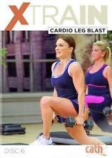 Cardio and Weights EXERCISE DVD - Cathe Friedrich XTRAIN Cardio Leg Blast!