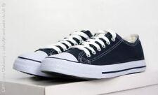 Zapatos informales de hombre en color principal azul de lona