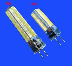 GY6.35(GX6.35/G6.35) 5W/7W LED bulb 72/120-5730 DC12~24V Crystal Dropligh Lamp