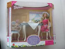 Barbie Tea Time With Her Friends Gift Set 1999 NRFB