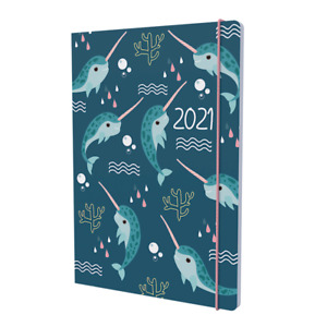 A5 Collins Natura Week to View Diary 2021