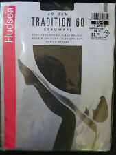 Straps-Strümpfe Feinstrümpfe Hudson Tradition 60 8 ½ - 9 9 ½ - 10 3 Farben NEU!