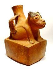 VASE PRECOLOMBIEN MOCHICA PEROU - 100BC / 300AD PRE COLUMBIAN MOCHE DOG VASE