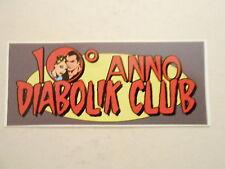 DIABOLIK CLUB - ADESIVO DECENNALE DK CLUB
