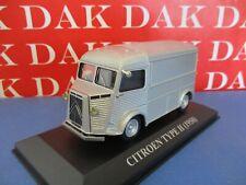 Die cast 1/43 Modellino Furgone Pubblicitario Citroen Type H - 1958 silver