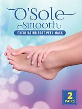 O'Sole Smooth Exfoliating Foot Peel Mask Treatment Natural Feet Skin Beauty