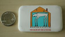 1990 Salem Oregon Art Fair & Festival Pin Pinback Button #31739