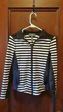 Women's Polo sweater / Ralph Lauren, Active Striped zip up - size  XS - New