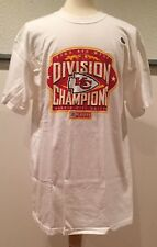 vtg Kansas City Chiefs NFL Football 2003 AFC West Division Champions T Shirt XL