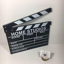 Movie Clapper Board 40 x 30cm Black & White Wall Mountable Film Art Scene Action
