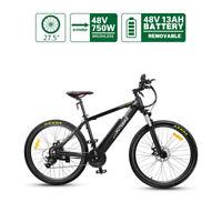 Electric Bike HOTEBIKE Mountain Bike 48V 750W 27.5 inch 160 disc Brake 21 Speed