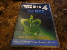 Chess King 4 with Houdini 4 & GigaKing Chess Software for Mac