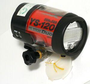 Sea & Sea YS-120 TTL Strobe Duo Underwater and SCUBA Flash