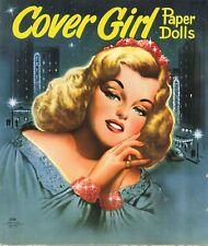 Vntg 1949 Cover Girl Paper Doll Lasr Reprodu~Org Sz Unct Free Sh No1 Selr