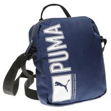 PUMA Men's Shoulder Bag Organizer Black Blue New